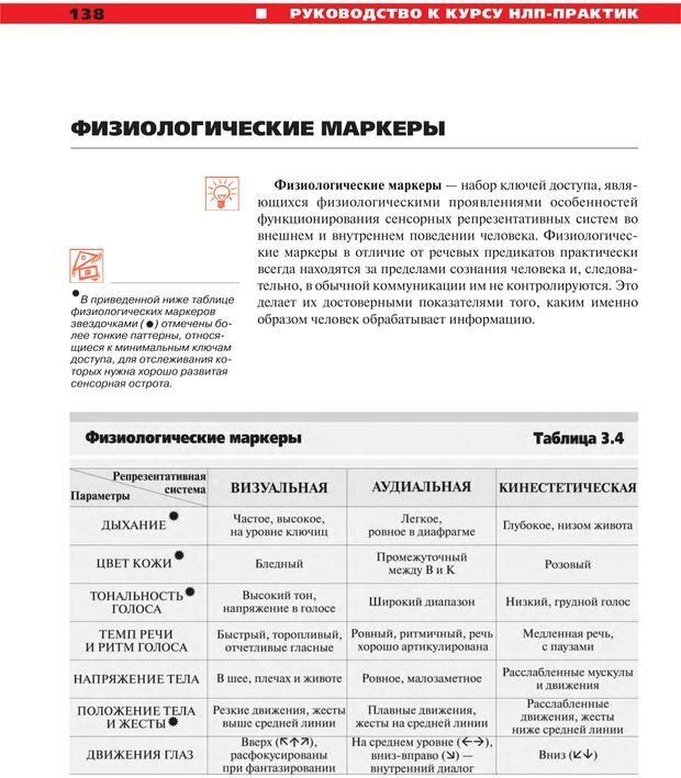 PDF. Руководство к курсу НЛП практик. Плигин А. А. Страница 128. Читать онлайн