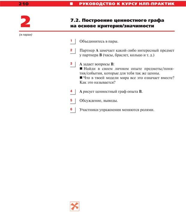 PDF. Руководство к курсу НЛП практик. Плигин А. А. Страница 190. Читать онлайн