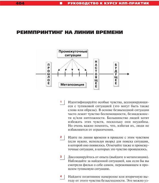 PDF. Руководство к курсу НЛП практик. Плигин А. А. Страница 370. Читать онлайн