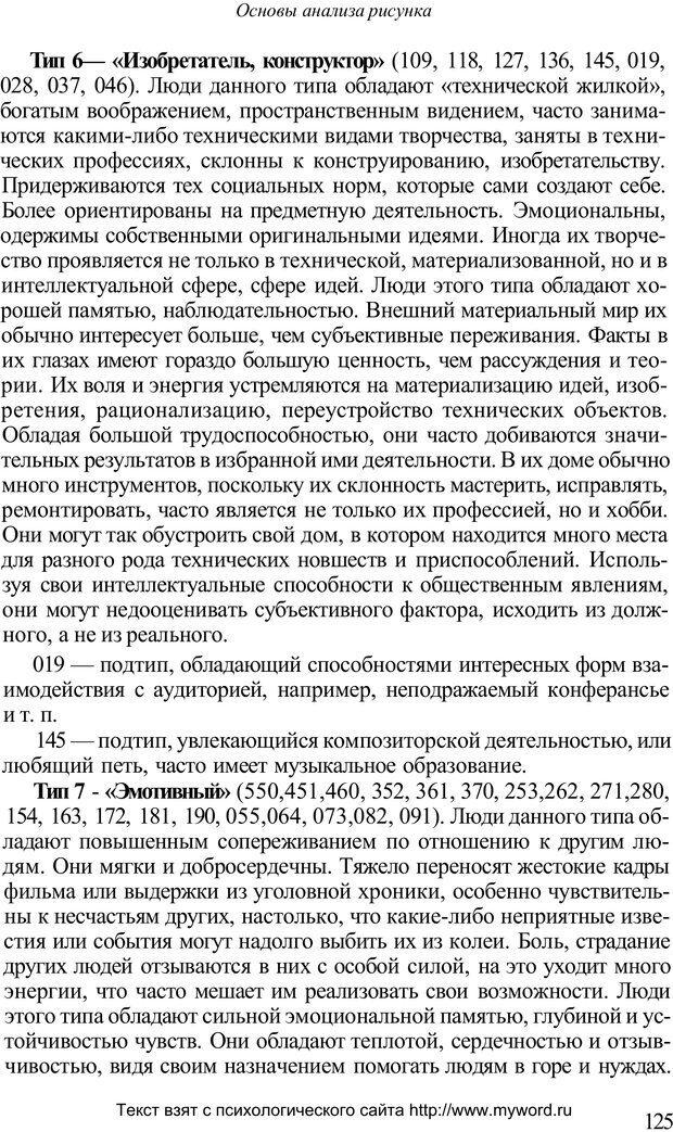 PDF. Психологический анализ рисунка и текста. Потемкина О. Ф. Страница 124. Читать онлайн