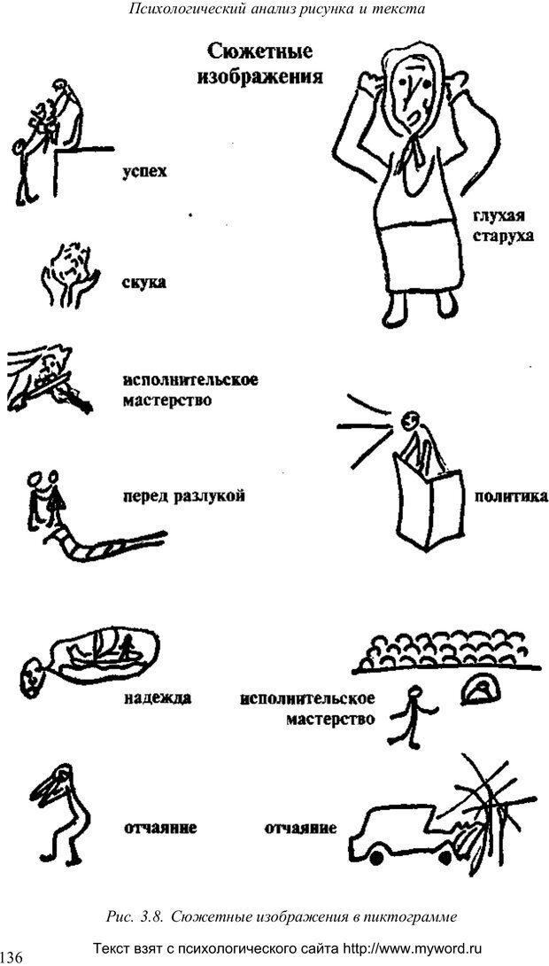 PDF. Психологический анализ рисунка и текста. Потемкина О. Ф. Страница 135. Читать онлайн