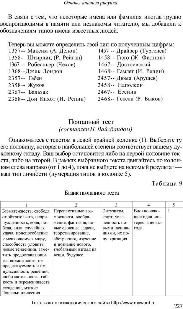 PDF. Психологический анализ рисунка и текста. Потемкина О. Ф. Страница 226. Читать онлайн