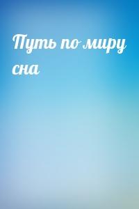 """Обложка книги """"Путь по миру сна"""""""