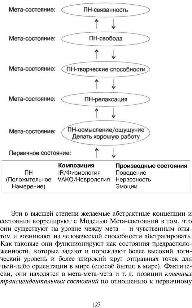 PDF. НЛП-Новые модели. Рауднер Я. Страница 127. Читать онлайн