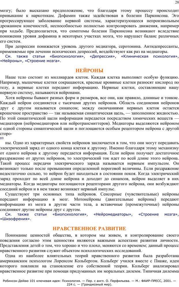 PDF. 101 ключевая идея. Психология. Робинсон Д. Страница 27. Читать онлайн