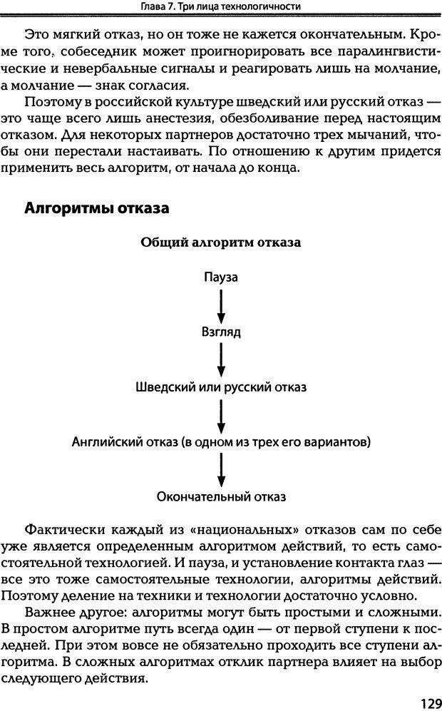 DJVU. Технологии создания тренинга. От замысла к результату [2008, DjVu, RUS]. Сидоренко Е. В. Страница 127. Читать онлайн