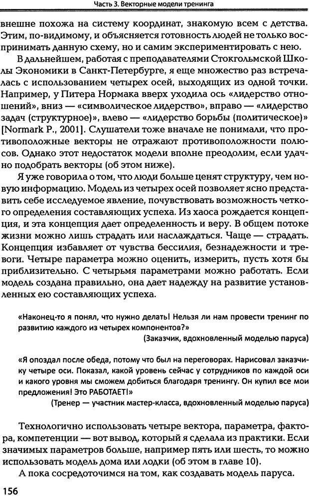 DJVU. Технологии создания тренинга. От замысла к результату [2008, DjVu, RUS]. Сидоренко Е. В. Страница 154. Читать онлайн