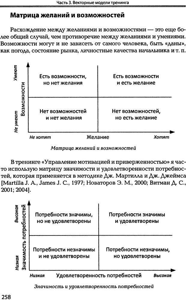 DJVU. Технологии создания тренинга. От замысла к результату [2008, DjVu, RUS]. Сидоренко Е. В. Страница 256. Читать онлайн