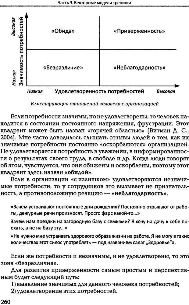 DJVU. Технологии создания тренинга. От замысла к результату [2008, DjVu, RUS]. Сидоренко Е. В. Страница 258. Читать онлайн