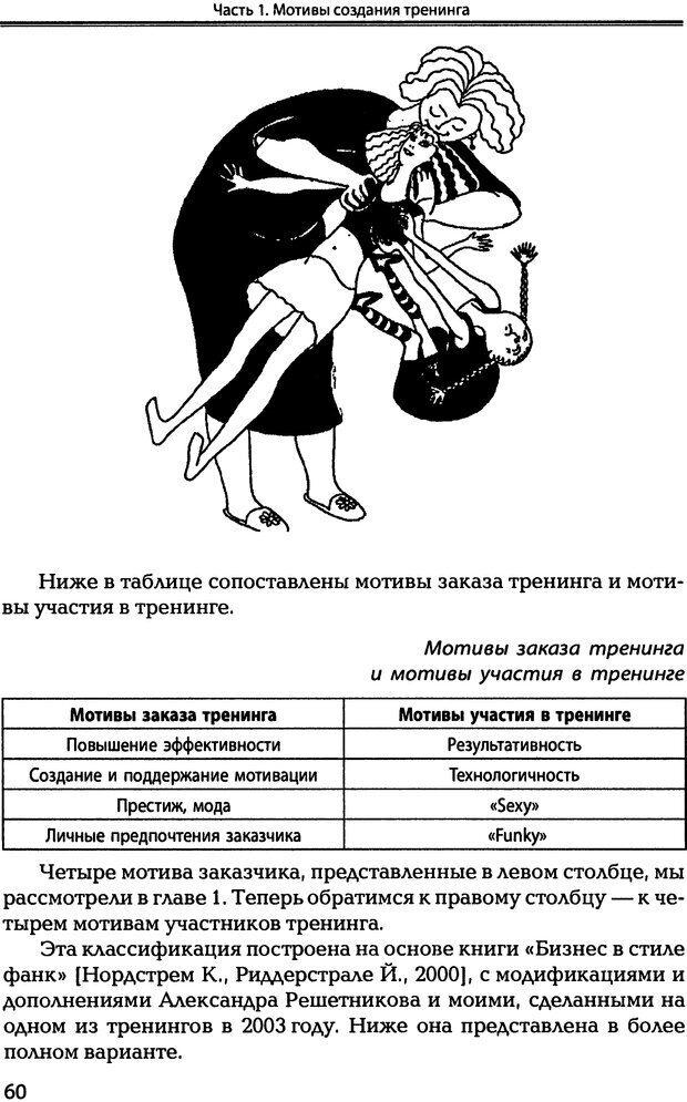 DJVU. Технологии создания тренинга. От замысла к результату [2008, DjVu, RUS]. Сидоренко Е. В. Страница 59. Читать онлайн