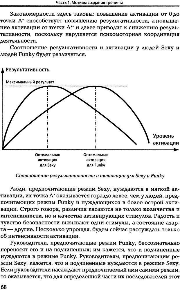 DJVU. Технологии создания тренинга. От замысла к результату [2008, DjVu, RUS]. Сидоренко Е. В. Страница 67. Читать онлайн