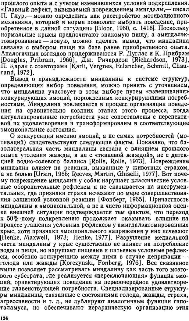 DJVU. Эмоциональный мозг. Симонов П. В. Страница 125. Читать онлайн