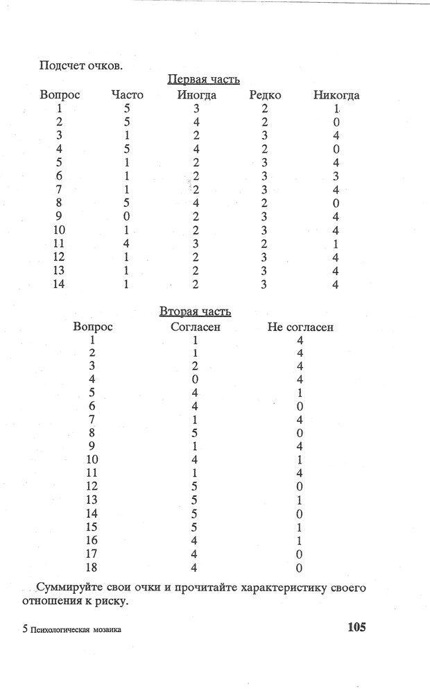 PDF. Психологическая мозаика. Степанов С. С. Страница 106. Читать онлайн