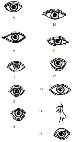 Физиогномика глаза в картинках значение, врач прикол