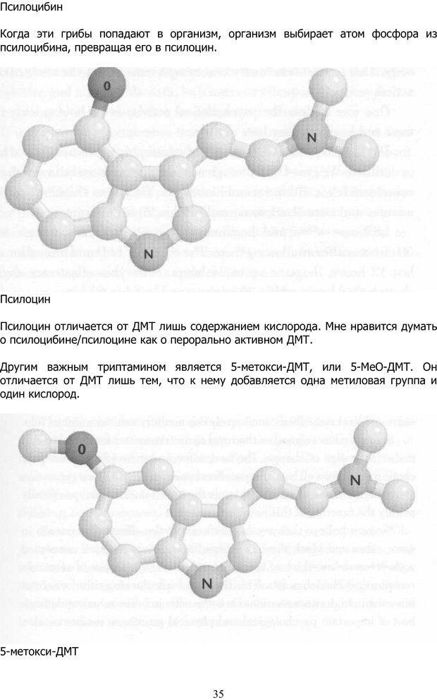 PDF. ДМТ  - Молекула Духа. Страссман Р. Страница 34. Читать онлайн