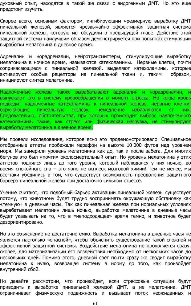 PDF. ДМТ  - Молекула Духа. Страссман Р. Страница 60. Читать онлайн