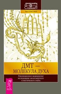 """Обложка книги """"ДМТ  - Молекула Духа"""""""