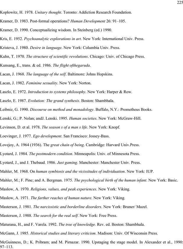 PDF. Око духа. Интегральное видение для слегка свихнувшегося мира. Уилбер К. Страница 224. Читать онлайн