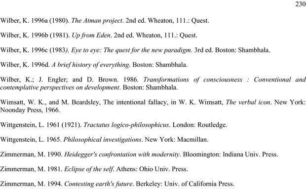 PDF. Око духа. Интегральное видение для слегка свихнувшегося мира. Уилбер К. Страница 229. Читать онлайн