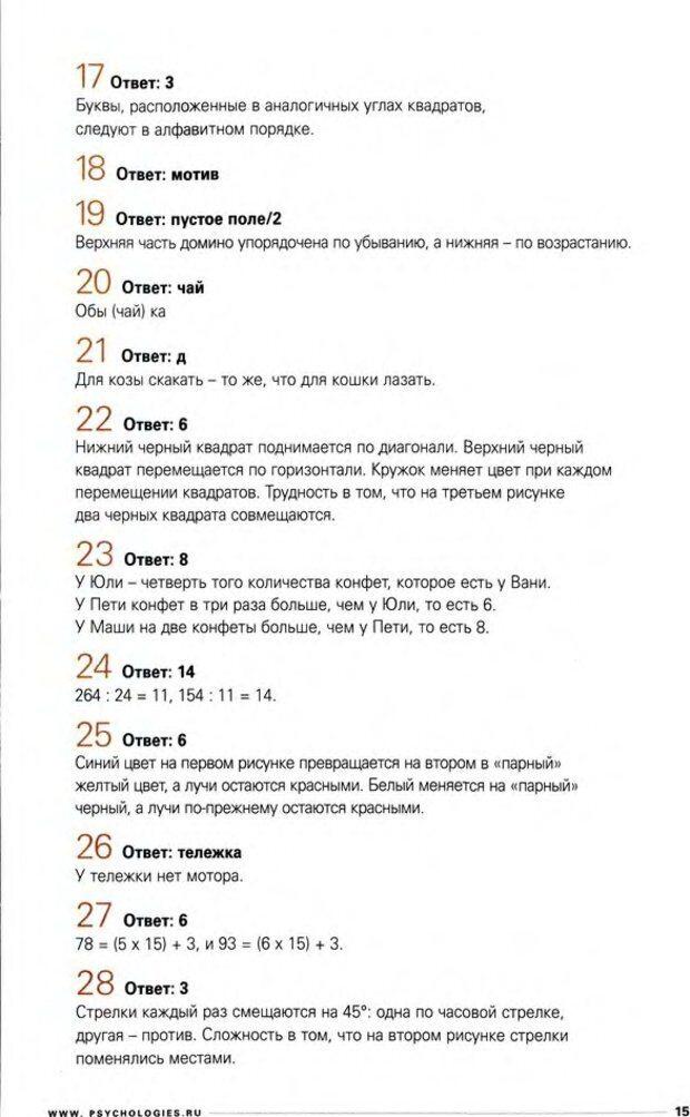 DJVU. Узнайте Ваши IQ и EQ. Без автора . Страница 15. Читать онлайн