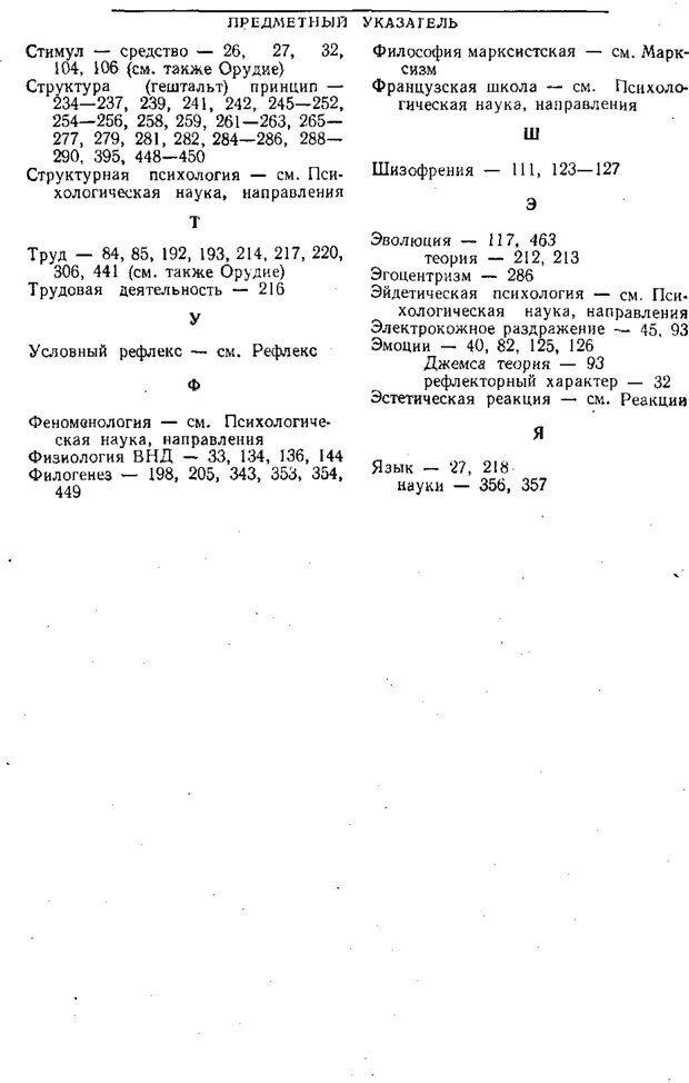 PDF. Том 1. Вопросы теории и истории психологии. Выготский Л. С. Страница 479. Читать онлайн