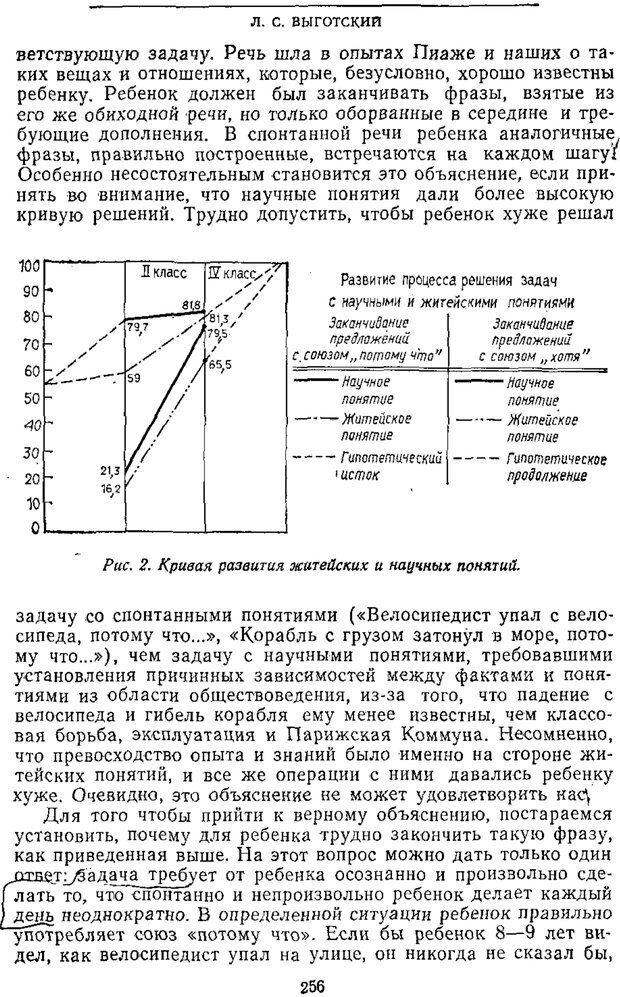 PDF. Том 2. Проблемы общей психологии. Выготский Л. С. Страница 254. Читать онлайн