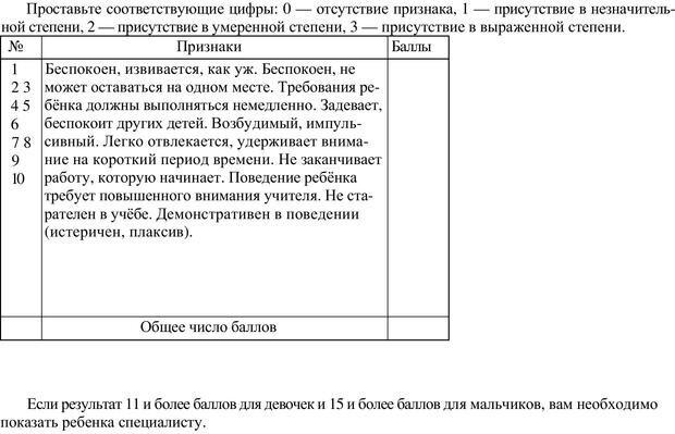 PDF. Непоседливый ребенок, или все о гиперактивных детях. Брязгунов И. П. Страница 36. Читать онлайн