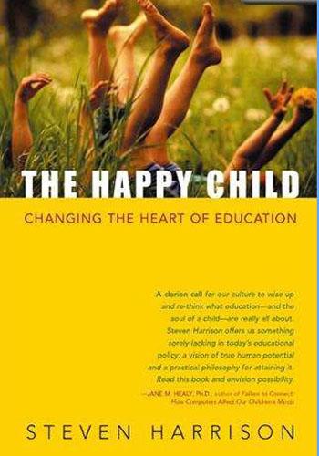 """Обложка книги """"Счастливый ребенок"""""""