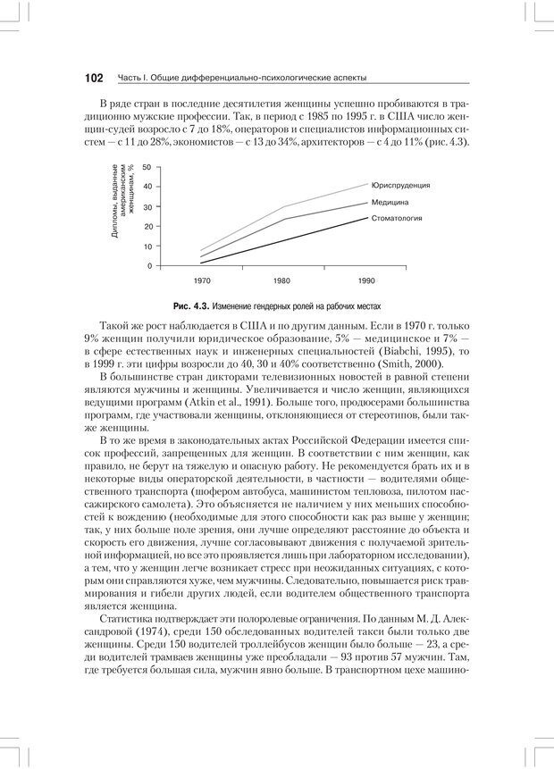PDF. Дифференциальная психология профессиональной деятельности. Ильин Е. П. Страница 101. Читать онлайн