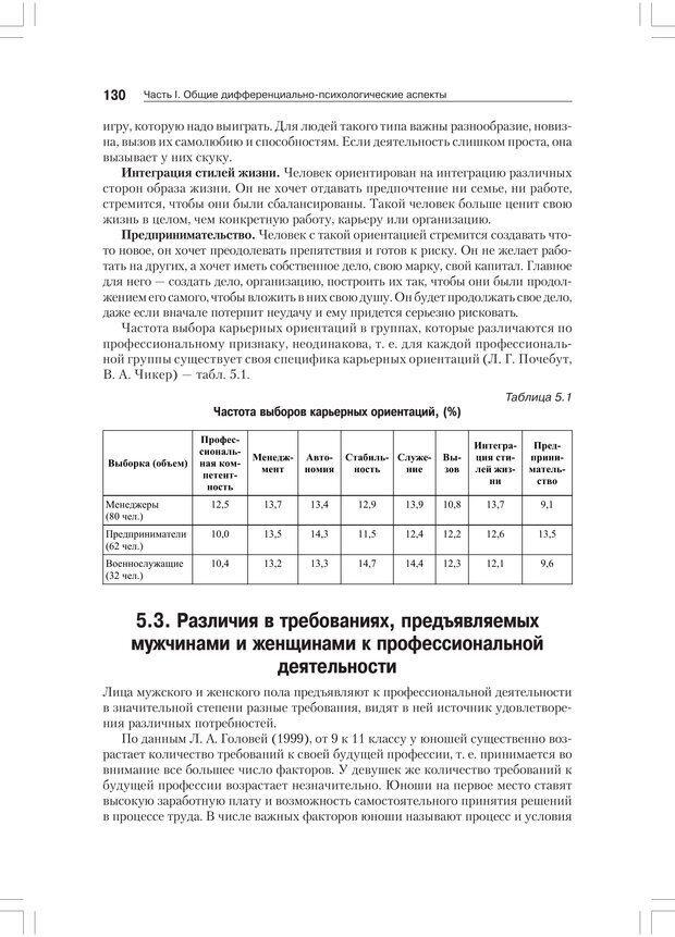 PDF. Дифференциальная психология профессиональной деятельности. Ильин Е. П. Страница 129. Читать онлайн