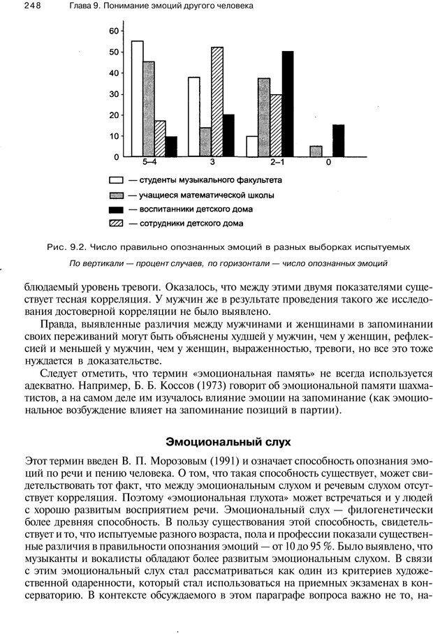 PDF. Эмоции и чувства. Ильин Е. П. Страница 247. Читать онлайн