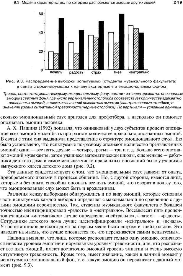 PDF. Эмоции и чувства. Ильин Е. П. Страница 248. Читать онлайн