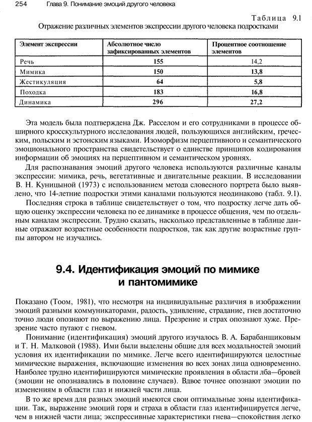 PDF. Эмоции и чувства. Ильин Е. П. Страница 253. Читать онлайн