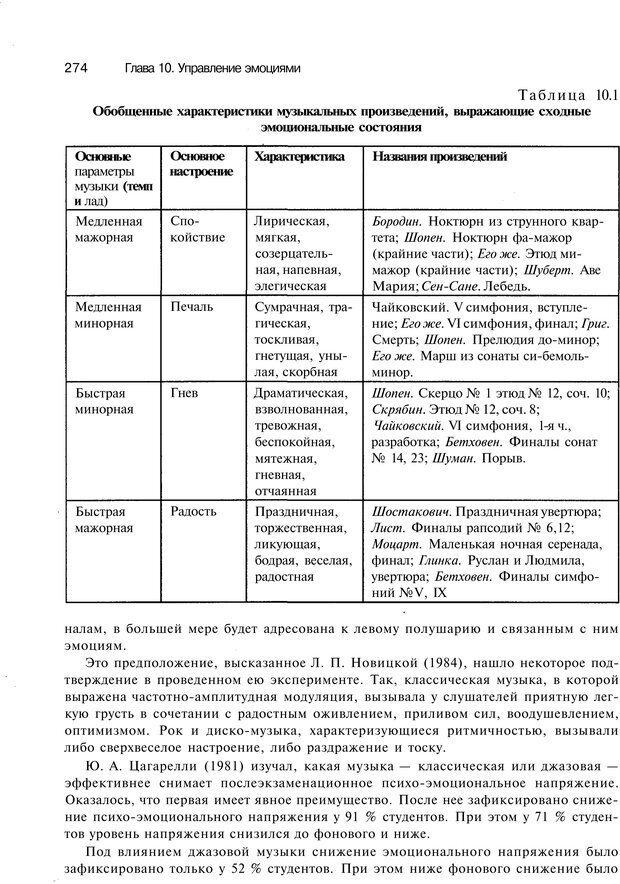 PDF. Эмоции и чувства. Ильин Е. П. Страница 273. Читать онлайн