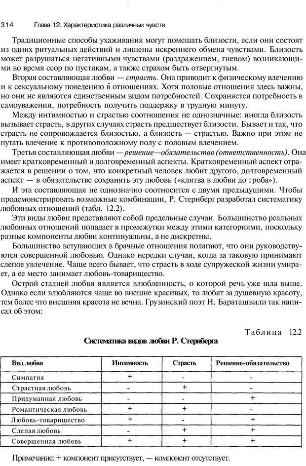 PDF. Эмоции и чувства. Ильин Е. П. Страница 313. Читать онлайн