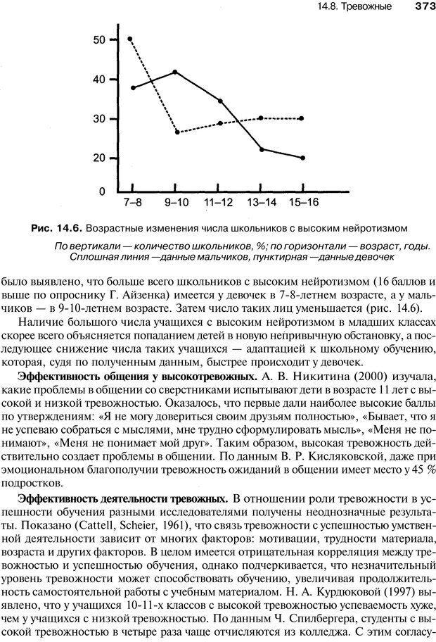 PDF. Эмоции и чувства. Ильин Е. П. Страница 372. Читать онлайн