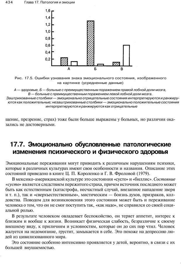 PDF. Эмоции и чувства. Ильин Е. П. Страница 433. Читать онлайн