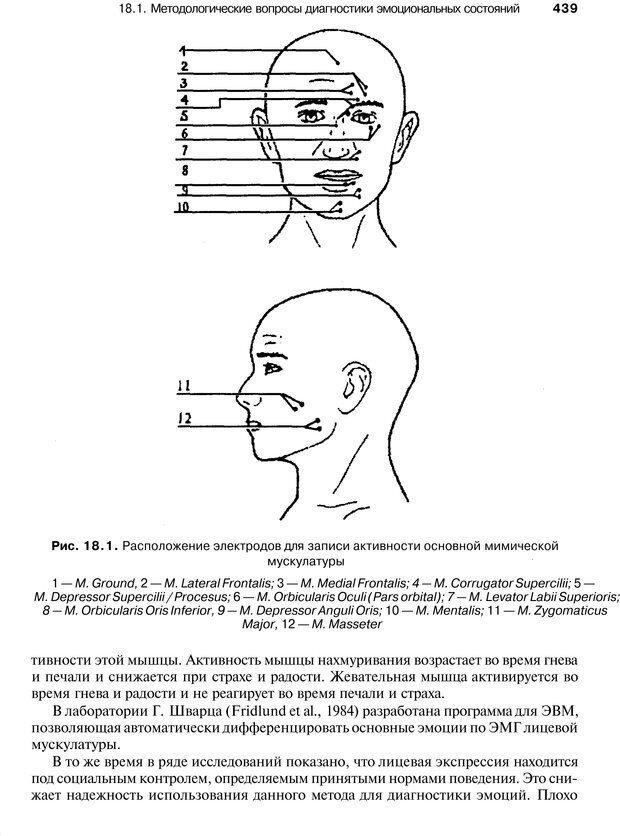 PDF. Эмоции и чувства. Ильин Е. П. Страница 438. Читать онлайн