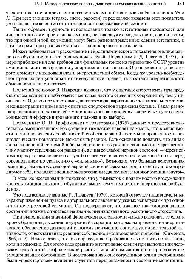 PDF. Эмоции и чувства. Ильин Е. П. Страница 440. Читать онлайн