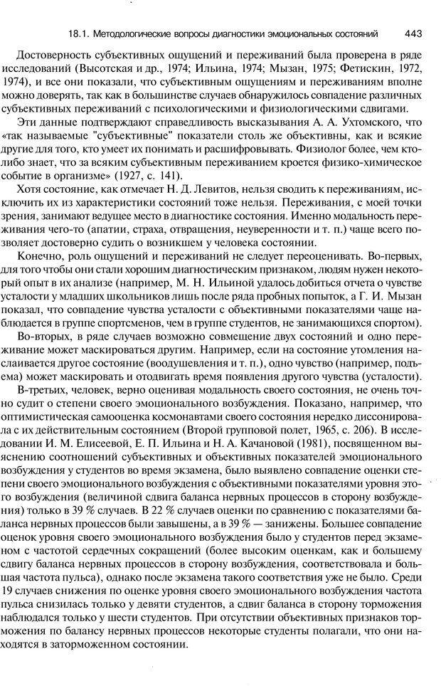 PDF. Эмоции и чувства. Ильин Е. П. Страница 442. Читать онлайн