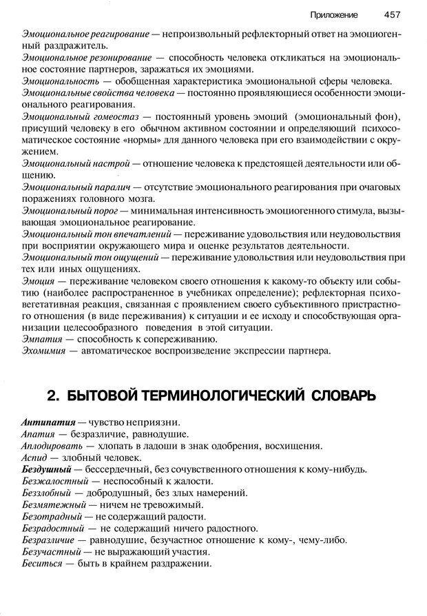 PDF. Эмоции и чувства. Ильин Е. П. Страница 456. Читать онлайн