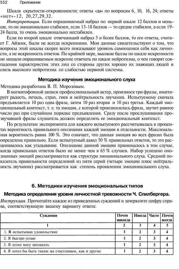PDF. Эмоции и чувства. Ильин Е. П. Страница 551. Читать онлайн