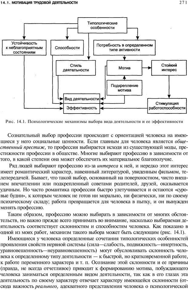 PDF. Мотивация и мотивы. Ильин Е. П. Страница 272. Читать онлайн