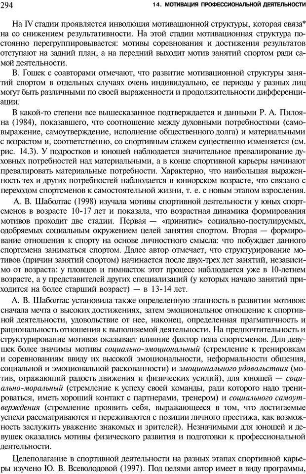 PDF. Мотивация и мотивы. Ильин Е. П. Страница 295. Читать онлайн