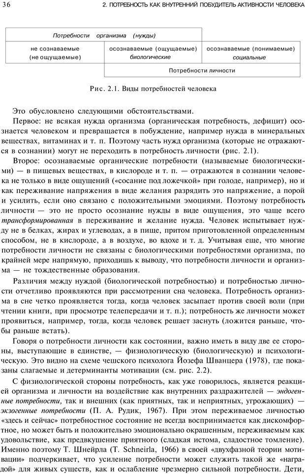 PDF. Мотивация и мотивы. Ильин Е. П. Страница 35. Читать онлайн