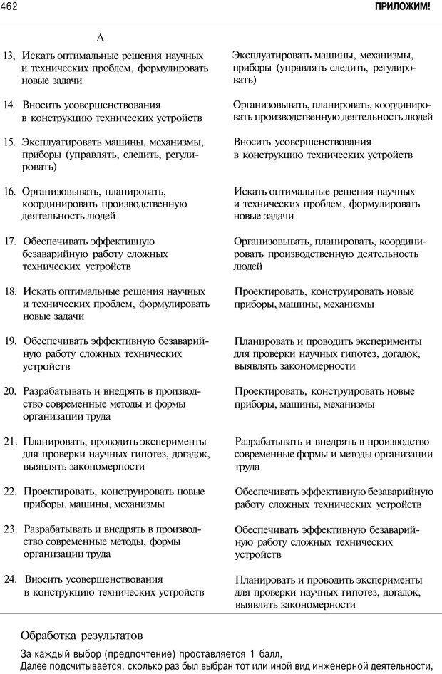 PDF. Мотивация и мотивы. Ильин Е. П. Страница 463. Читать онлайн