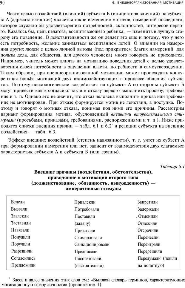 PDF. Мотивация и мотивы. Ильин Е. П. Страница 90. Читать онлайн