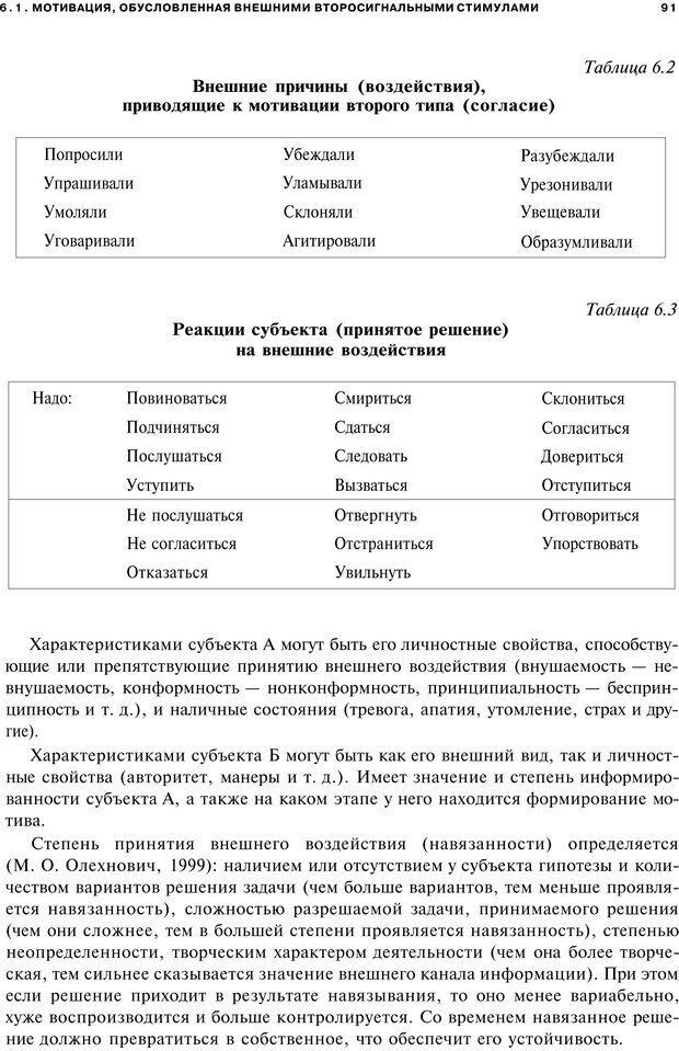 PDF. Мотивация и мотивы. Ильин Е. П. Страница 91. Читать онлайн