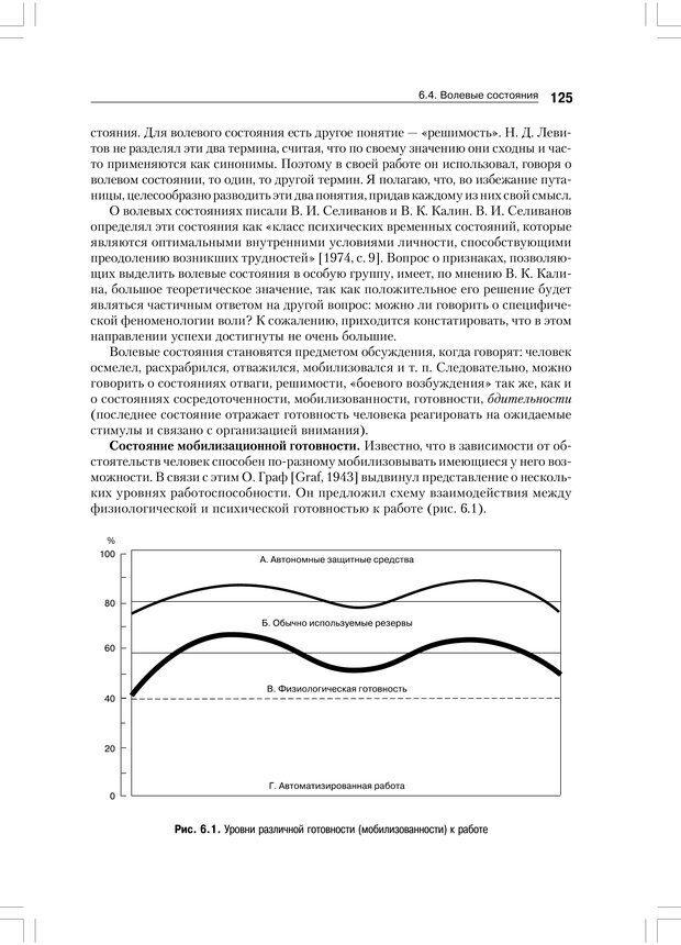 PDF. Психология воли. Ильин Е. П. Страница 124. Читать онлайн