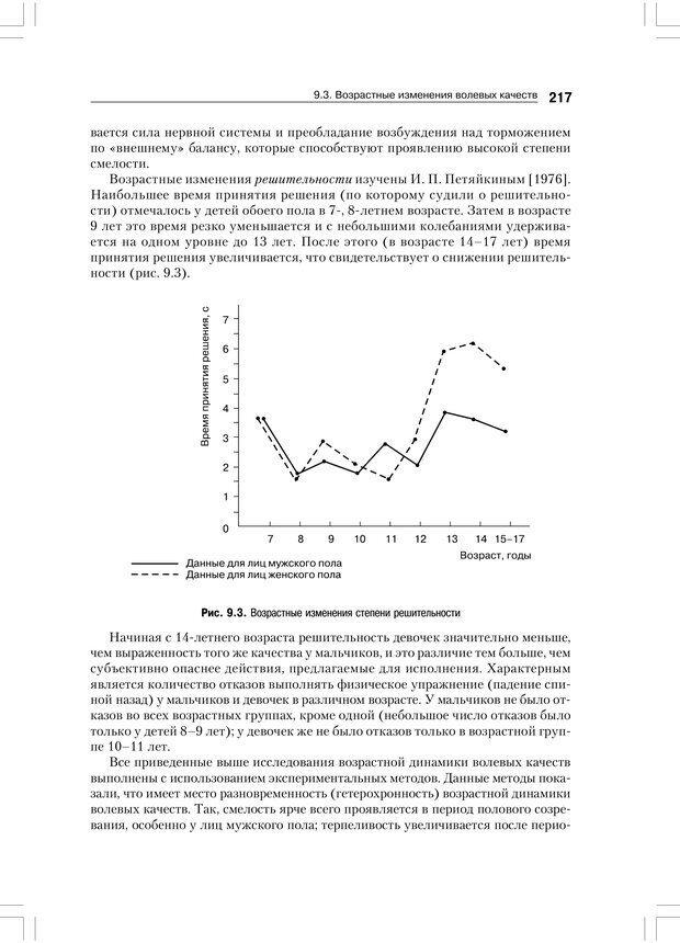 PDF. Психология воли. Ильин Е. П. Страница 216. Читать онлайн